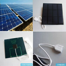 USB Solar Panel 3.5W 6V Mobile Phone Tablet Power Bank External Battery Charger
