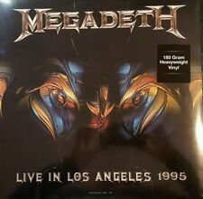 MEGADETH Live In Los Angeles 1995 LP NEW VINYL Dol