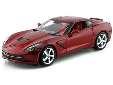 Maisto 2014 Chevy Corvette C7 Stingray 1:18 Diecast Model Car Red