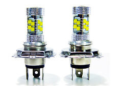 2x 100W Stage3 Bright White H4 9003 LED Daytime Light Lamp bulb HeadLight DRL
