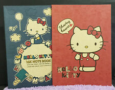 2x Hello Kitty Note Book Travel Diary Journal Cute Gift New Edition 16K Quality