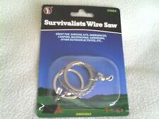SURVIVAL WIRE SAW Wilderness Emergency camping outdoor backpacking gear kit