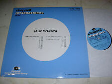 LIBRARY CHAPPELL Music For Drama JAZZY-TENSION-CRIME´73