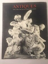 Vintage The Magazine ANTIQUES April 1965 - American art at Met, German Lacquer