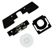 4 in 1 iPad 2 Menu Home Button Key Cap External + Internal Flex Cable Set White