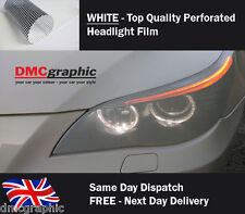 20x106cm Decorative Window Headlight Vinyl Film One Way Vision Spi Graphic White