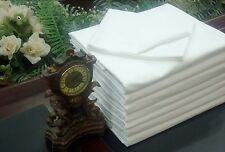 LOT OF 32 NEW WHITE HOTEL PILLOW CASES COVERS T-180 STANDARD SIZE   HOT SALE