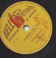 Alfred Paka and his Hawaiians Tommy Castro : Across the Sea + Aloha Oe