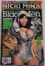 BLACK MEN Sexy NICKI MINAJ Music & Mayhem Issue TRINA Waka Flocka NEW SHRINK WR