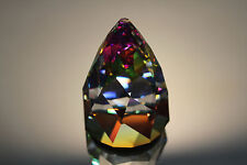 SWAROVSKI CRYSTAL RIO CONE PAPERWEIGHT 7452 NR 060 RETIRED VITRAIL MEDIUM MINT