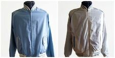 Vintage Expeditions Men's Reversible Jacket Zip Long Sleeve Hipster Retro Bomber