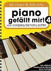 Klavier Noten Piano gefällt mir 4 - - 50 CHART und FILM HITS - Spiralbindung