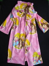 Disney Princess One Size Girl (6 7 8+) Blanket Robe Wearable Throw With Sleeves