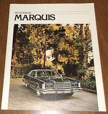Vintage 1978 Mercury Car Automoblile Brochure - Marquis