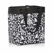 Thirty One essential storage Utility tote Bag Black parisian pop 31 gift new i