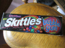 SKITTLES Xtreme Fruit Bubble Gum (1) Sealed Collectors Pack (Very Rare!!)