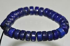 30Pcs 6x3mm Natural Afghanistan Pyrite LAPIS LAZULI Heishi Rondelle Beads G0982