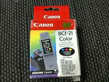 CANON BCI-21 Color Ink Cartridge NEW SEAL