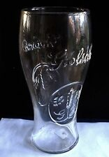 UK / BRITISH - GROLSCH LAGER EMBOSSED PINT BEER GLASS (HAS PRE 2006 GOV STAMP).