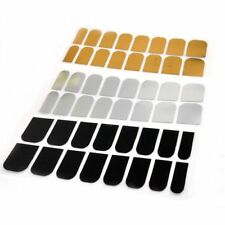 Beauty Golden Foil Armour 16 Pcs Foils Sticker Art Patch Silver Smooth Nail