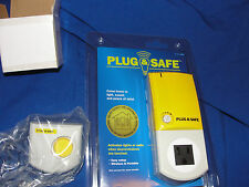 Plug & Safe PS8 Home Motion Sensor with RX6 Siren-Yellow- NEW