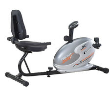 Cyclette orizzontale magnetica TEKNA 305 Jk Fitness recumbent volano 5 kg bike