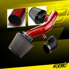 08-10 Pontiac G6 2.4L Without Air Pump Red Cold Air Intake + Stainless Filter