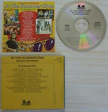 CD ALBUM IN THE SUMMERTIME 16 GREATEST HITS MADE IN ISRAEL HOLLAND