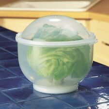 Lettuce Crisper Keeper Food Storage Container Fresh Vegatable Saver Crisp Bowl