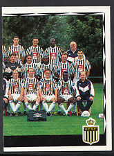 Panini Belgian Football 1999 Sticker - No 102 - Charleroi Team Group