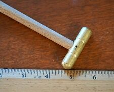 SMALL 3 oz BALL PEEN BRASS HAMMER FOR GUNSMITH MACHINIST JEWELERS TOOLS