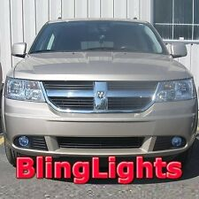 Xenon Halogen Fog Lamps Lights Kit for 2009 2010 Dodge Journey