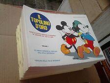 IL TOPOLINO D'ORO 1/33 serie completa - Walt Disney -  Mondadori 1972-1974