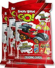 100 Packs x NEW Angry Birds Go Trading Cards Party Lucky Loot Toys Bag Pinata