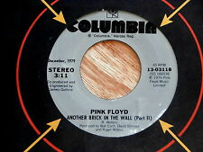 PINK FLOYD~ANOTHER BRICK IN THE WALL~ONE OF MY TURNS~COLUMBIA ~ POP 45