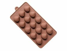 Seashell Shells Silicone Soap mold Candy Chocolate Fondant Tray mould ICE Cube