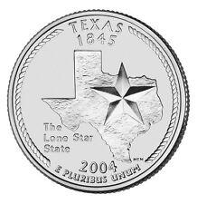 2004D Texas State Quarter BU
