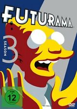 4 DVD-Box ° Futurama ° Staffel 3 ° NEU & OVP
