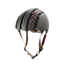 Brooks J.B. Special Carrera Fahrradhelm LARGE grey tartan dark grey Bike Helm