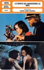 FICHE CINEMA : LE MARIN QUI ABANDONNA LA MER - Miles,Kristofferson,Carlino 1975