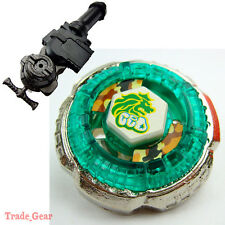 Rock Leone BB-30 Metal Fusion BEYBLADE Fight Masters +LR Launcher+GRIP