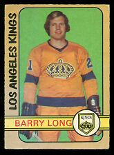 1972 73 OPC O PEE CHEE HOCKEY #288 BARRY LONG EX+ LOS ANGELS L A KINGS CARD