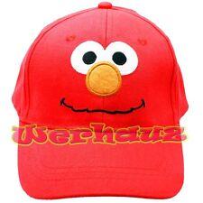 Sesame Street Elmo Kids Baseball Cap Girls Boys Hat