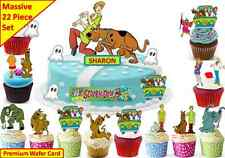 SCOOBY DOO Edible Birthday Scene Cup Cake Scene Toppers STAND UP CUSTOM