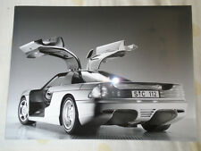 Mercedes C112 car press photo brochure 1991 ref D 91 S 1591