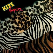 KISS - ANIMALIZE (LTD.BACK TO BLACK VINYL)  VINYL LP NEU