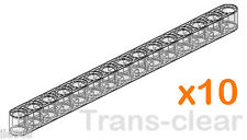 10 Lego XL Beams  ( technic,mindstorms,robot,nxt,liftarm,studless,brick,chassis)