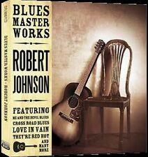 CD ROBERT JOHNSON BLUES MASTER WORKS CROSS ROAD BLUES LOVE IN VAIN THEY'RE RED