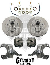 "Chevy C10 1963-1970 2½"" Drop Spindles 6 Lug Disc Brake Conversion McGaughys"