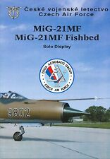Broschüre MiG-21 Solo Display Team 1994, Czech Air Force, sehr selten,very rare!
